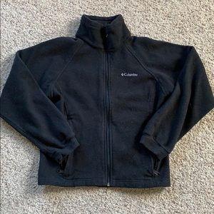 Boys Columbia Fleece Jacket Size 14/16